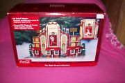 Coca Cola Stadium Village Christmas Building The Main Street Collection  A-910