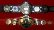 Triple Crown Tag Team Heavyweight Championship Belts Best Offer