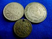 1957 Espana,1960 Uk Or 1968 France-buychooseone Or More Coins ..   5.7/57