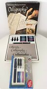 Lot Of Vintage Sheaffer Calligraphy Fountain Pens Nibs Sets