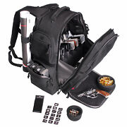 G.p.s. Executive Backpack With Removable 5 Gun Foam Cradle Black