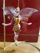 Tinkerbell Crystal Figurine From Wdw In Castle Vintage Retired Disney