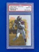 1996 Select Certified Mirror Gold Jerry Rice 62 Psa 9 Mint Pop 3 Wr Goat Rare