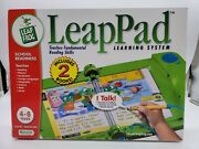 Leap Frog Leappad Learning System - Includes 2 Books - 4-8 Years - New Blemished