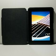 Kindle Fire Hd 8.9  32gb Tablet   Model 3ht7g With Black Kindle Case.