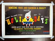 Ww2 Ringling Bros. And Bb Circus - Holidays - Art By Norman Bel Geddes 1942 1...