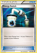 4x Energy Switch 94/114 Brand New Trainer Pokemon Cards Set Lot Black And White