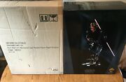 Sideshow Collectibles Star Wars Darth Maul Mechanical Legs Premium Format Statue