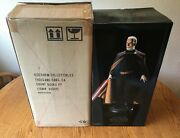 Sideshow Collectibles Star Wars Count Dooku Premium Format Statue