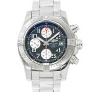 Breitling Avenger Ii Chronograph A13381 Date Black Dial Mens Watch 90126977