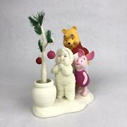 Department 56 Snowbabies Disney The Guest Collection Pooh's Hunny Tree Piglet