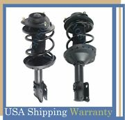 For 2008-2011 Subaru Impreza Wrx Front Pair Quick Complete Struts And Coil Springs
