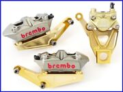 20032007 Gsx1300 Hayabusa Brembo Radial Mount And Caliper Front And Rear Set Uuu