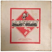 Vintage Monopoly Game - 1957 - French Edition - Rare
