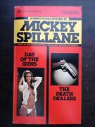 Mickey Spillane Day Of The Guns / The Death Dealers Double Signet Pulp Gga 1981