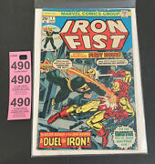 Iron Fist 1. Marvel Comics Group First Issue Nov 1975