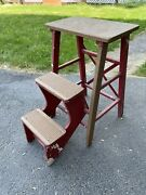 Vintage Plymouth Sturdy Built Products Step Ladder