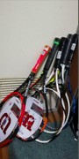 Wilson And Other Hard Tennis Rackets Set Of 5 Japan