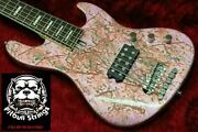 Bacchus Groove Line 5 Used Original Electronics Marble Color Finish W/soft Case