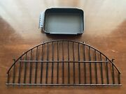 Char-broil Bistro Electric Patio Grill - 20602107 Warmer Rack Grease Pan