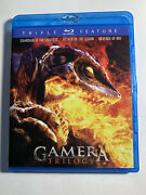 Gamera Trilogy Blu-ray, Mill Creek Release 2011 2-disc Set Rare And Oop