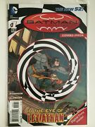 Batman Incorporated 1 2012 Sealed Combo Variant Dc Comic Book