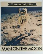 Man On The Moon Toronto Daily Star 1969 Magazine Newspaper's Insert | 15 Pages