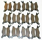 2013 Can-am Outlander 1000 Efi 12 Sets Of Front And Rear Brakes Brake Pads