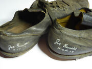 Joe Sewell Mlb Hof Personally Owned And Games Worn 1920and039s Cleats Autographed