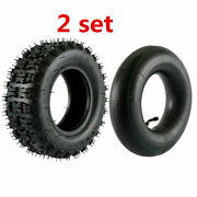 2pc 13x5.00-6 13x5-6 Tire For Scooter Go Kart Snowblower 6 Inch Tires New