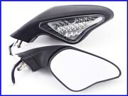 2010 Ducati 848 Built In Led Turn Signals Genuine Right And Left Mirror Set Yyy
