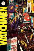 Chris Thornley This City Is Afraid Of Me Watchmen Variant Poster Dc Bng