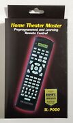 Home Theater Master Sl-9000 Universal Programable/learning Remote Control New