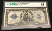 1923 5 Silver Certificate Porthole Note Pmg Vf35 Tough Note Problem Free