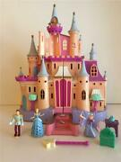 Disney Cinderella Magical Musical Castle Palace Music Playset Polly Pocket Type