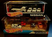 Hot Wheels Premium Nissan And Fast And Furious Garage. Lot Of 2 🔥