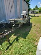 Evinrude Outboard Motor 6hp 1984 Boat And Motor 14ft X 48
