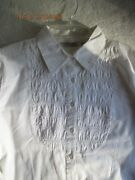 Women's Plus Size Clothing Vintage Notations White Blouse Size Xl New With Tags