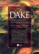 Dake Annotated Reference Bible-kjv [leather Bound]