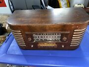 Rare Vintage General Electric Ge J-71 Tube Radio Untested Project