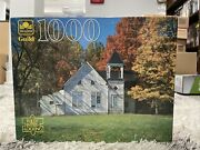 Indiana Church Golden Guild 1000 Piece Puzzle New
