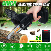 4 850w One-hand Saw Electric Chain Saw Wood Cutter Cordless Kit For Woodworking