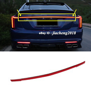 Led Tail Trunk Strip Light For Cadillac Ct5 2019 2020 2021 Stop Brake Rear Lamp