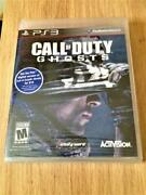 Ps3 Call Of Duty Ghosts New Sealed