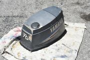 60 Hp 70 Hp Yamaha 3 Cylinder Two Stroke Top Cowling Cowl Hood Motor Cover