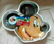 Wilton Mickey Mouse Clubhouse Cake Pan With Instruction Sheet 2195-7970