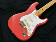 Fender Road Worn 50s Stratocaster Fiesta Red Electric Guitar