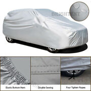 All Weather Mid Car Cover Waterproof Full Uv Protection Dust Resistant Mch0s