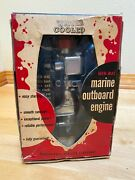 -mac Gas Powered Water-cooled Toy Outboard Marine Motor mint In Box Complete