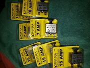 Blue Sea Push Button Reset Only Quick Connect Circuit Breaker 705470537056